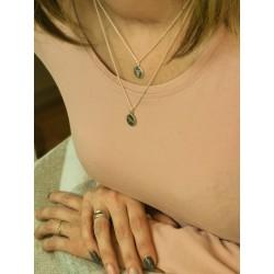 Halskette Silber ∆f508